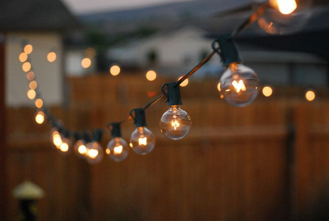 9 stunning ideas for outdoor globe string lights globe string outdoor room ambience globe string lights the garden glove aloadofball Gallery