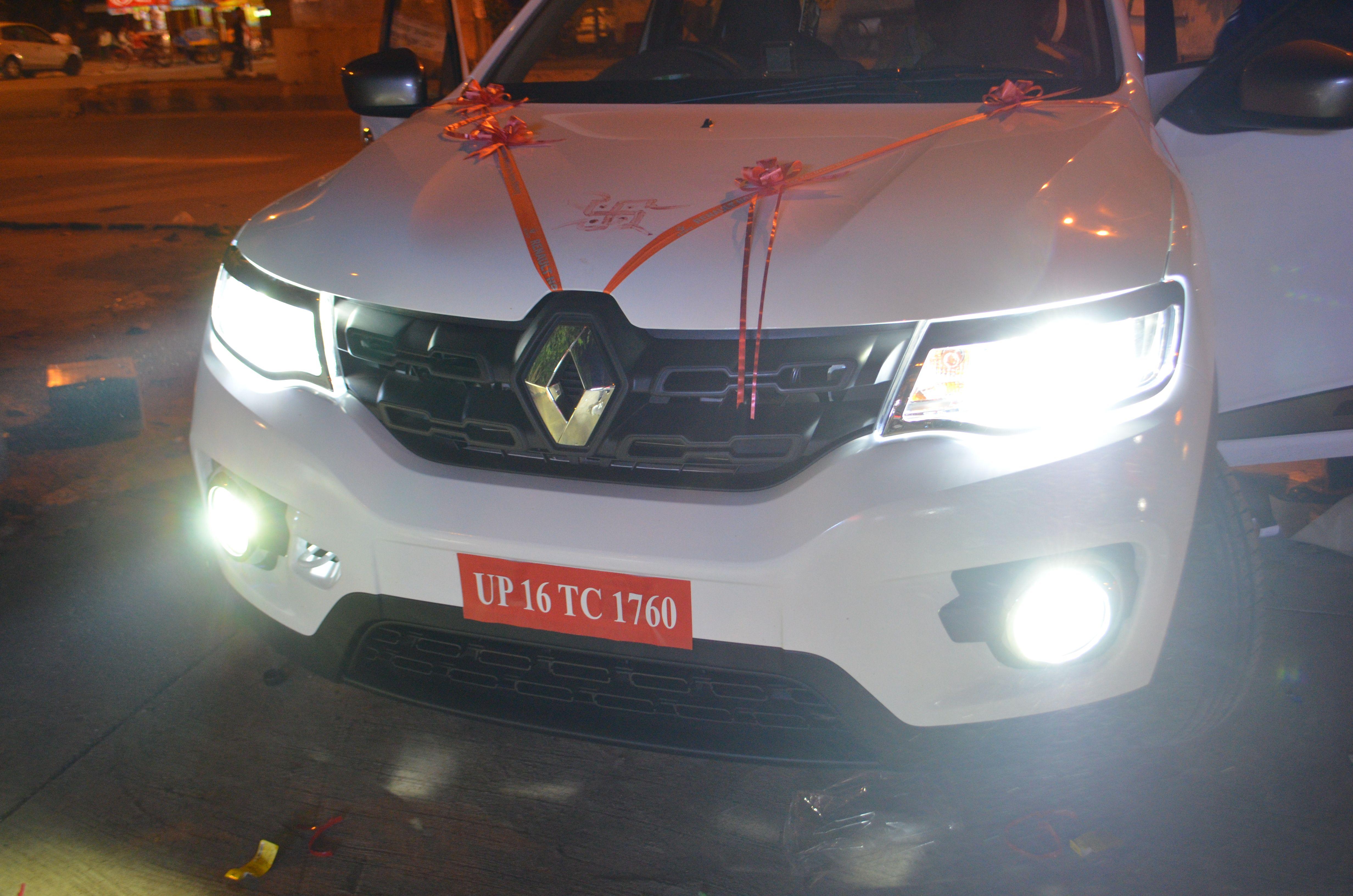 Installed Kmh Car Cree Ledlight In Renault Kwid Shop Online At