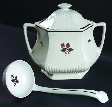 Adams Empress Tea Leaf Soup Tureen