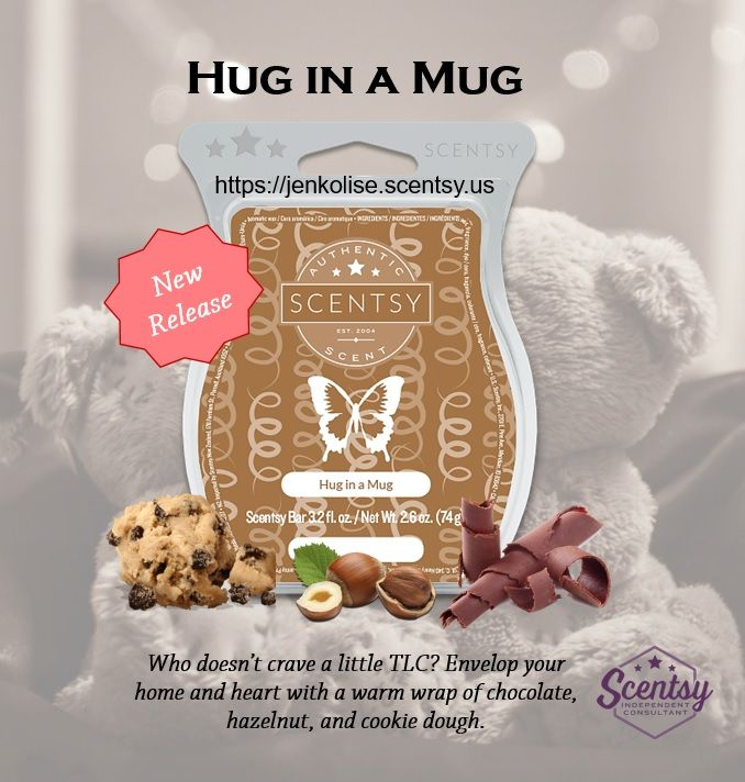 New Release Fall/Winter 2017 Check out my website at https://jenkolise.scentsy.us and like my FB page at https://www.facebook.com/WicklessJenKolise #Scentsy #cookiedough #chocolate #fall #newrelease