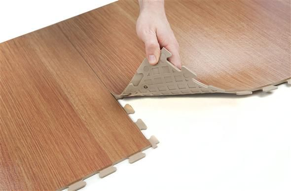 Wood Flex Tiles Interlocking Wood Vinyl Tiles Vinyl Tiles Wood Vinyl Diy Flooring
