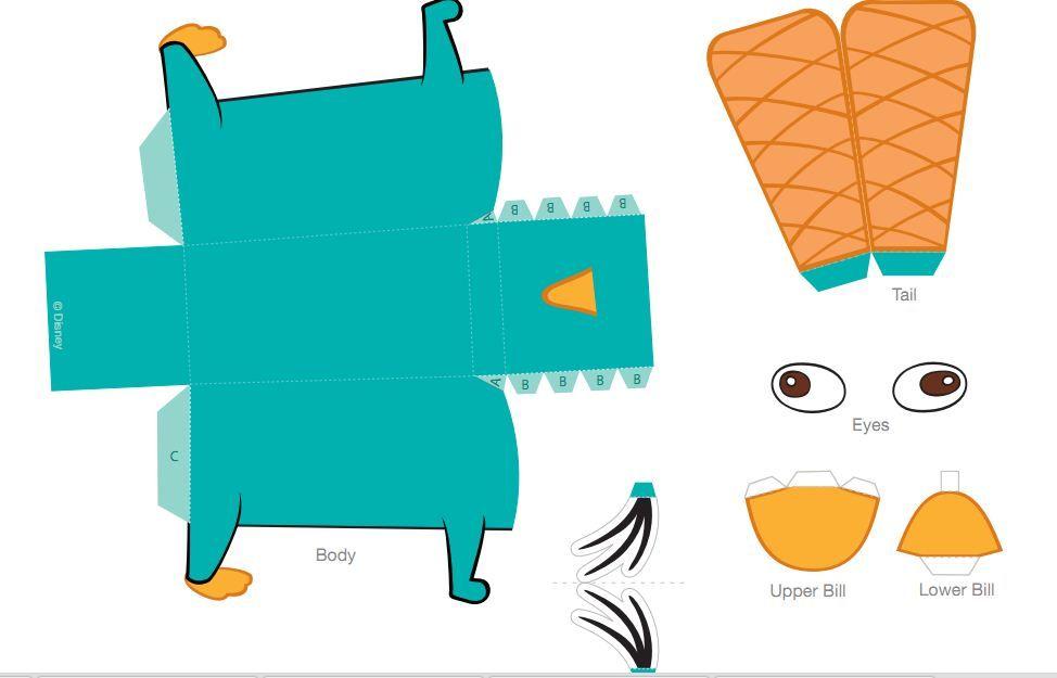 Manualidades para ni os con papel perry paper crafts - Manualidades para ninos con papel ...