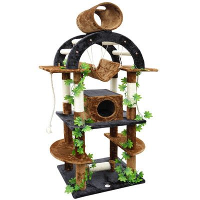 You Ll Love The 71 Cat Tree At Wayfair Great Deals On All Pets