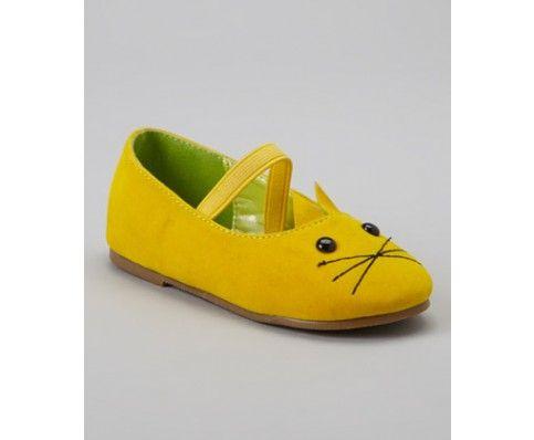 Momoko the Cat Yellow Mary Jane