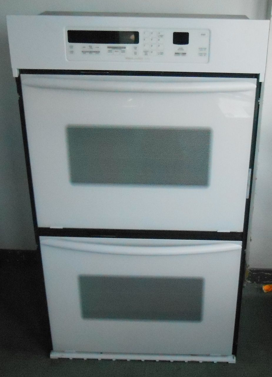 Appliance City   KITCHENAID 30 INCH DOUBLE WALL OVEN True Convection Upper  Oven/ CleanBake Hidden