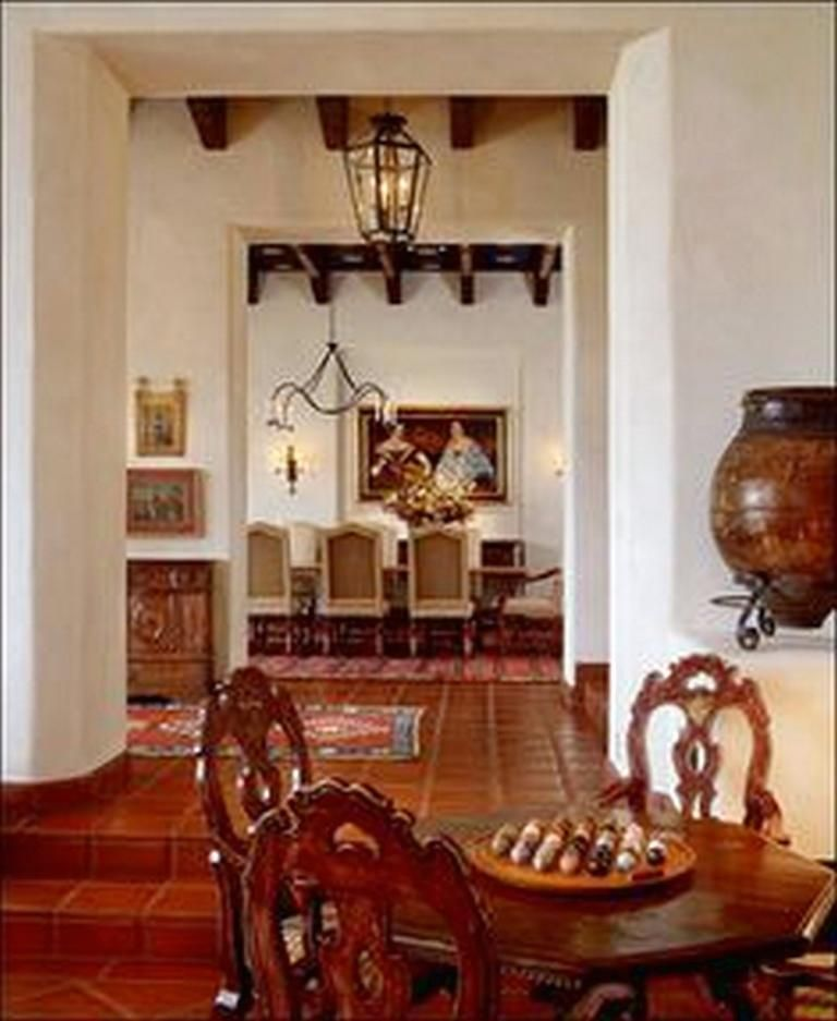 Beautiful and unique spanish farmhouse interior designs also rh pinterest