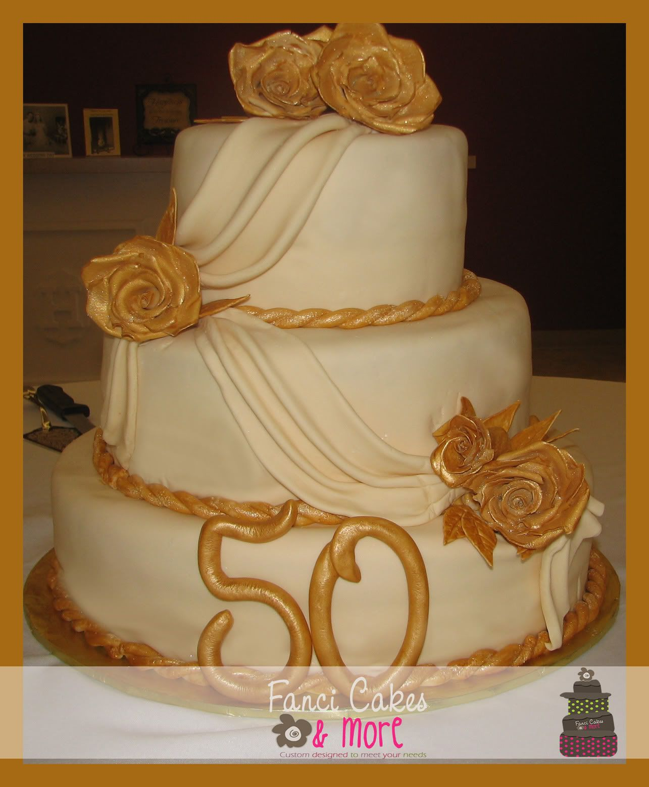 Fanci Cakes & More: 50th Anniversary