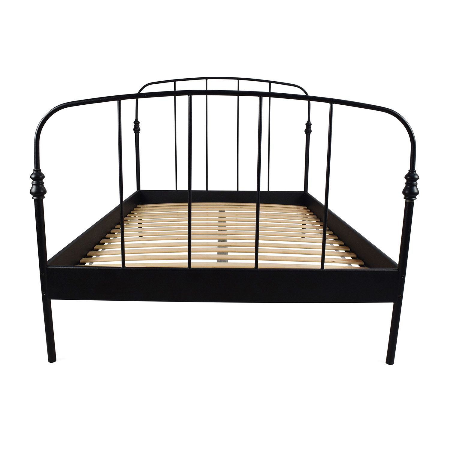 Ikea Svelvik Full Size Black Bed Frame Black Bed Frame Black