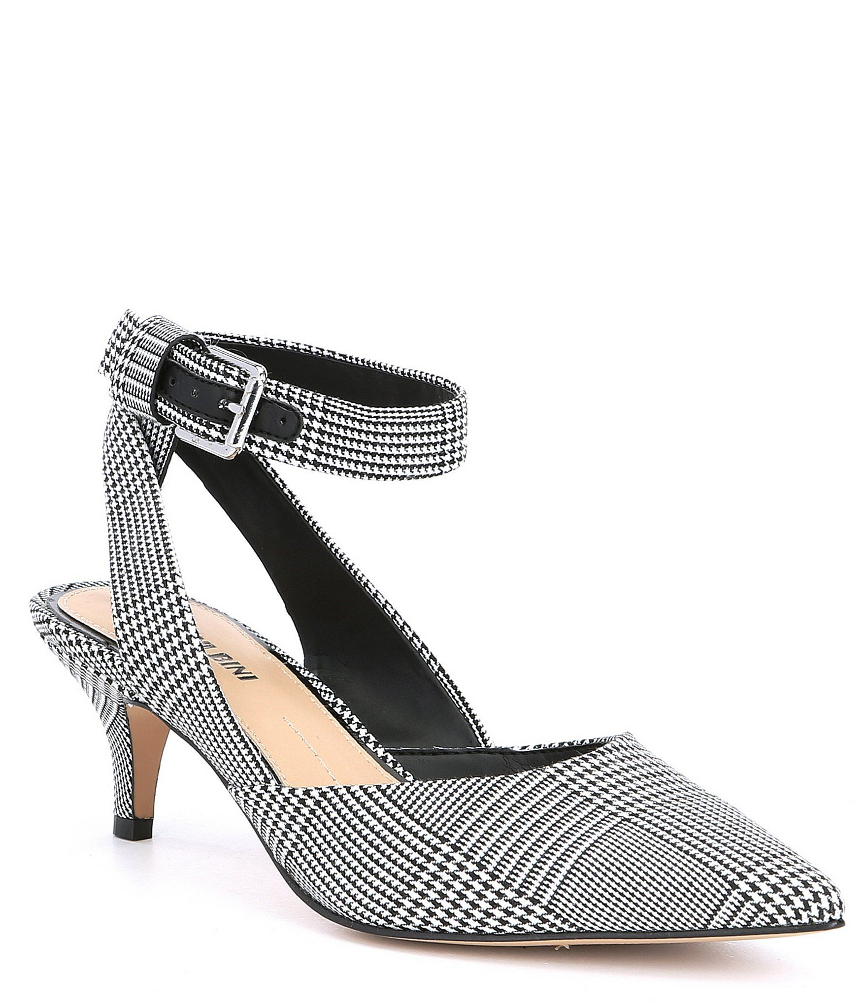 81983b4d71d Shop for Gianni Bini Rizbee Menswear Inspired Plaid Ankle Wrap Sling Pumps  at Dillards.com. Visit Dillards.com to find clothing