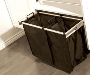 Hafele pull out laundry hamper rail system For Cabinet Width Cat. No.  WishList -