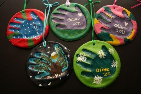salt dough handprint ornaments by monika197308 christmas crafts pinterest. Black Bedroom Furniture Sets. Home Design Ideas