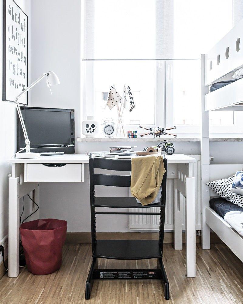 Monochrome Scandinavian Boys Room New Look My Full House Com Scandinavian Kids Rooms Boy S Room Boy Room