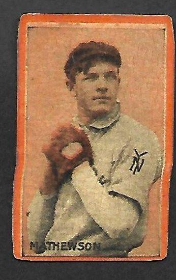 New Just In 1910 Orange Borders Blank Back Christy