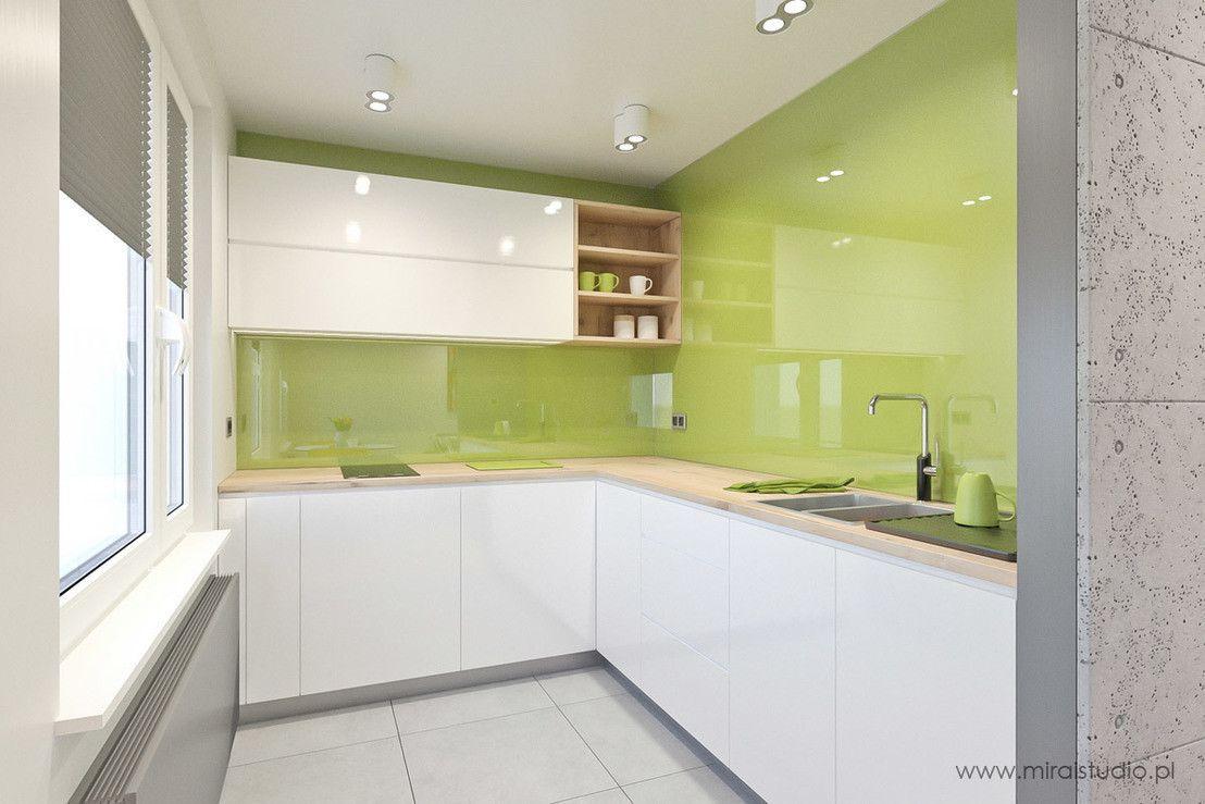 Kuchnia pełna kolorów!  5 przykładów -> Kuchnia Ikea Zielona