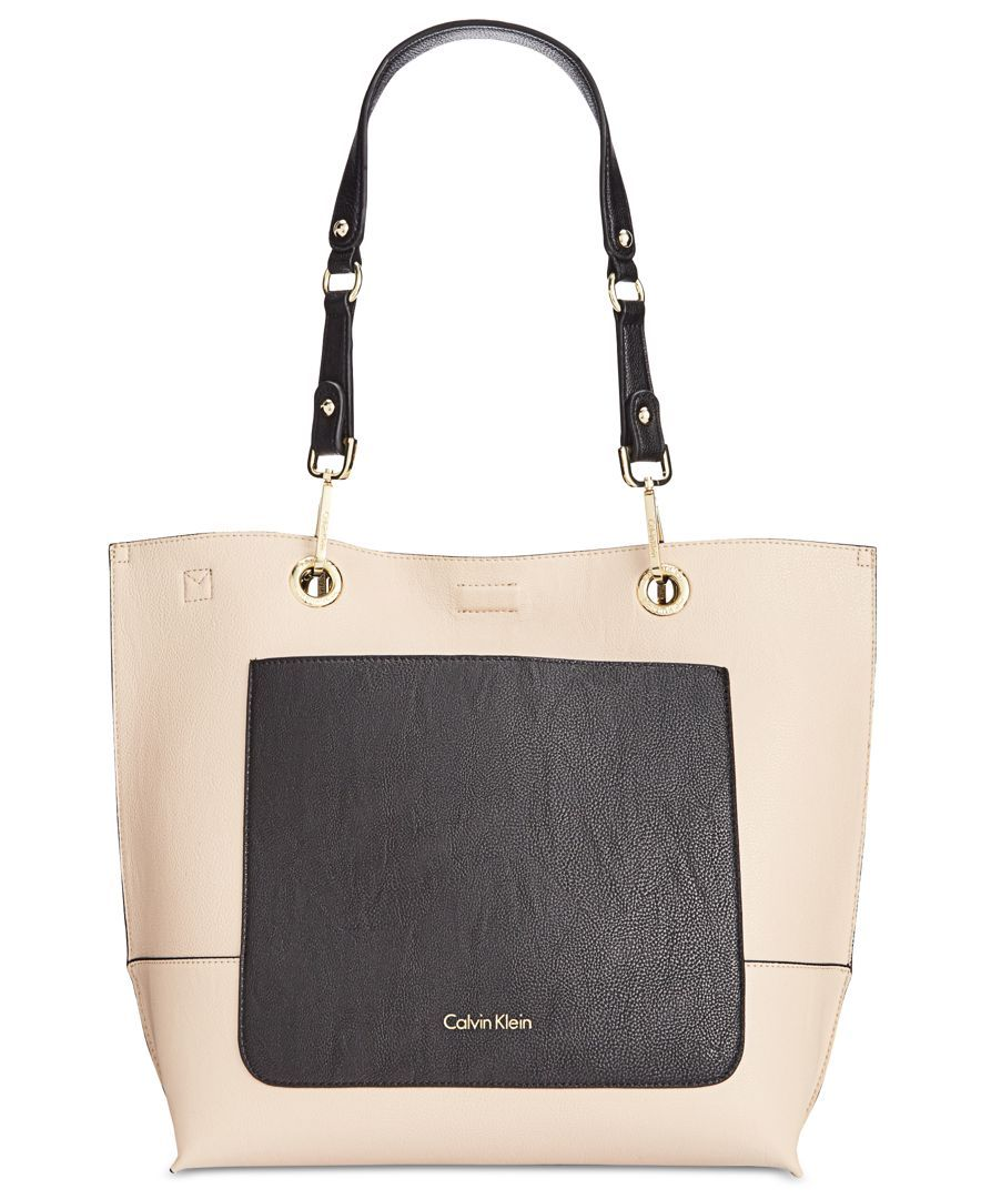 Calvin Klein Reversible Pocket Novelty Tote