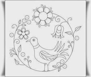 Kus Boyama Resimleri Kus Nakis Crewel Embroidery Oya Ornekleri