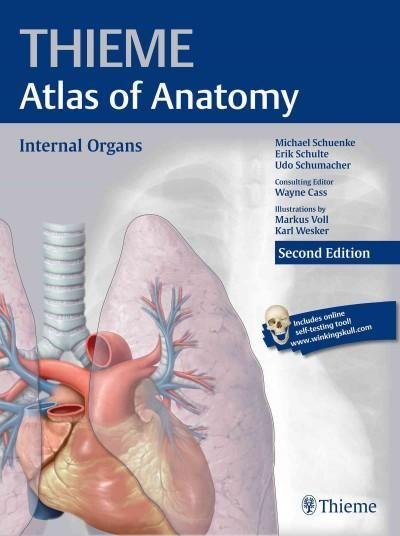 Thieme Atlas of Anatomy - Internal Organs | Products | Pinterest ...