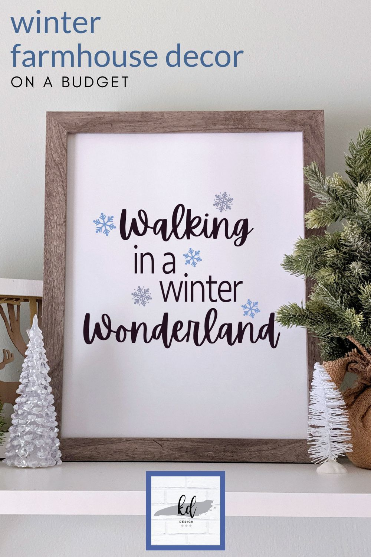 Walking In A Winter Wonderland Christmas Prints Farmhouse Etsy Christmas Prints Farmhouse Christmas Decor Christmas Wall Decor