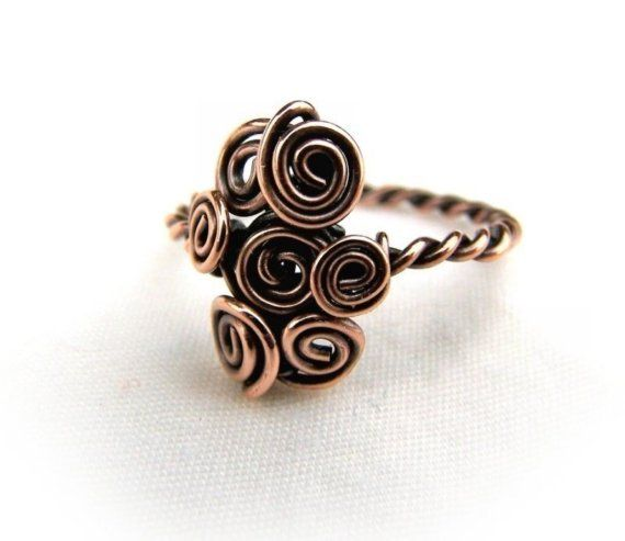 Wire Wrap Lesson Twisted Wire Ring Tutorial
