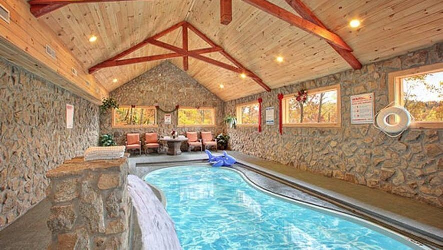 The Best Smoky Mountain Cabins With Indoor Pools For Your Vacation Tennessee Cabins Gatlinburg Cabin Rentals Cabin Rentals