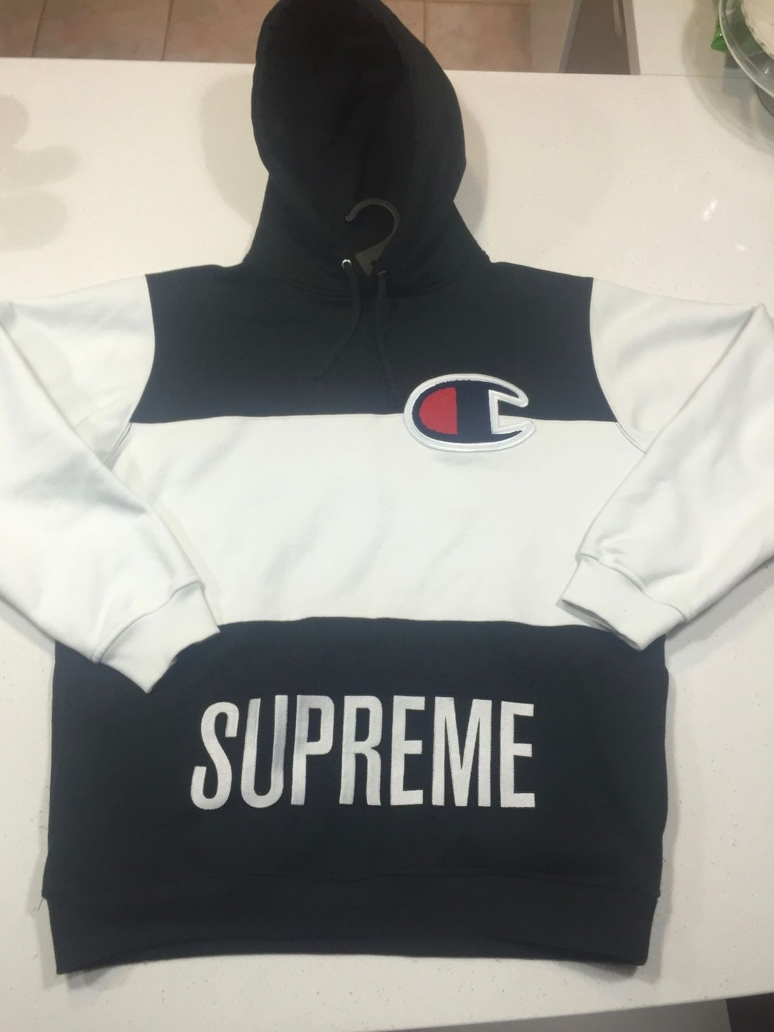 343c3aa92362 Supreme x Champion Hoodie | LIL BABY SUPLEX | Champion clothing ...