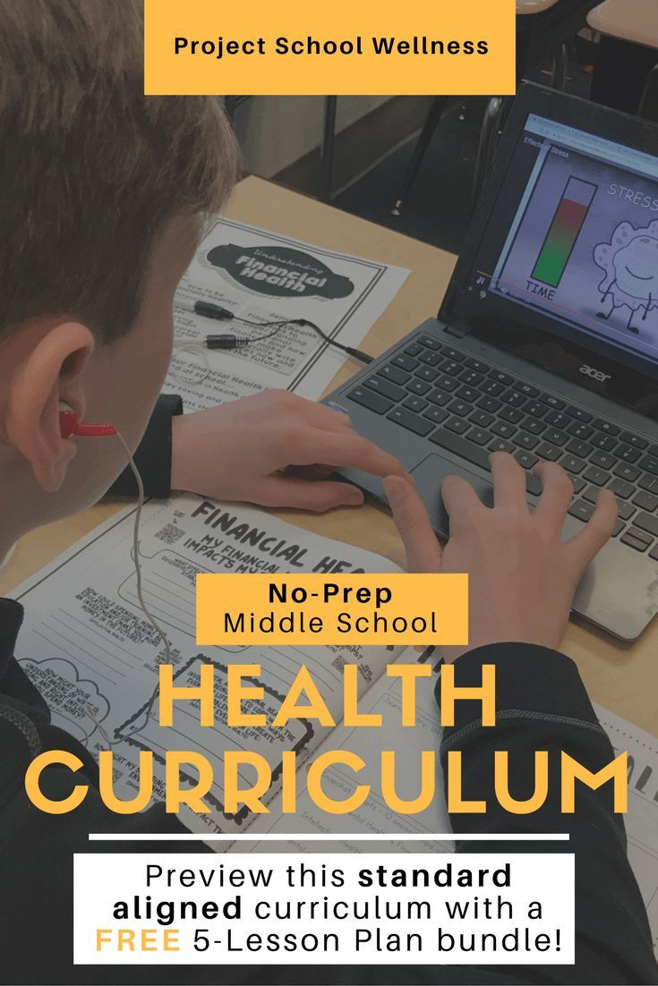 The Project School Wellness Curriculum is an easytouse relevant and engaging middle school health curriculum This standardaligned curriculum comes with 90 lessons Each le...