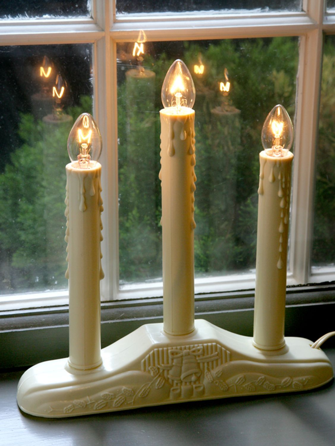 Christmas Window Candles.Electric Window Candle Light In 3 Sizes Magnificent