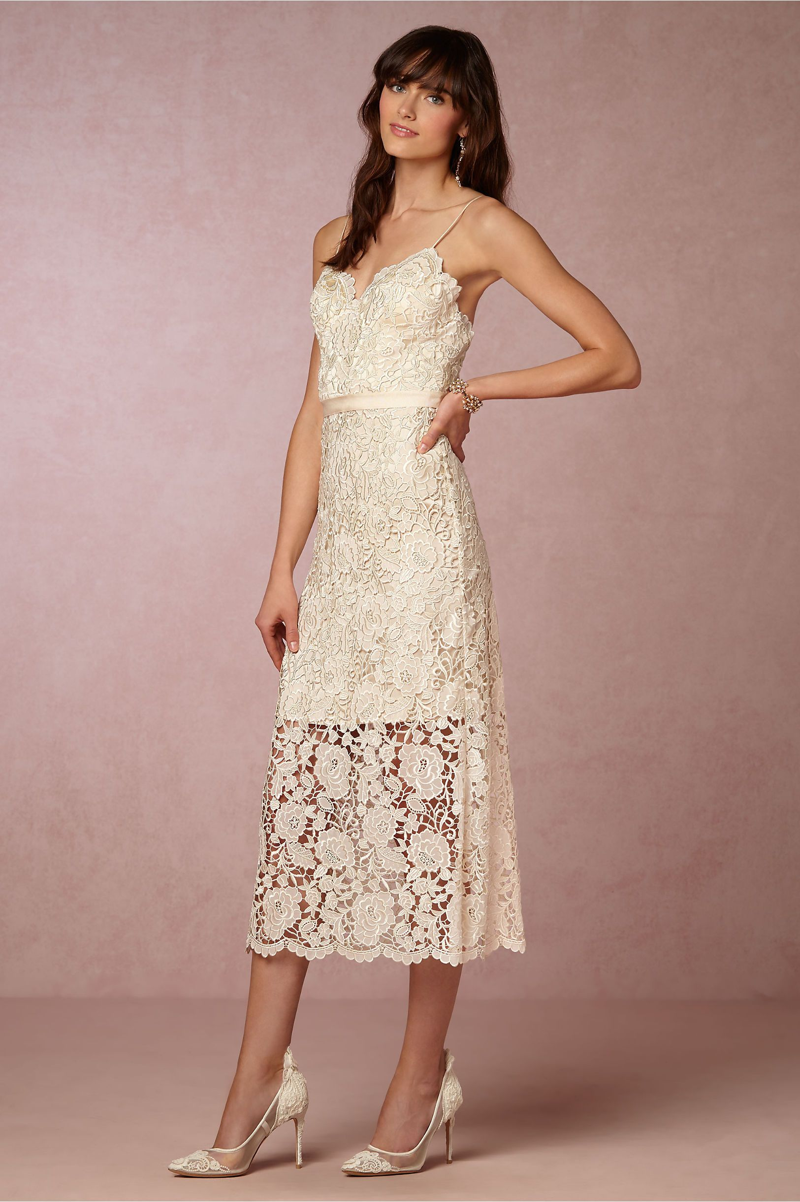 da6fc55195 BHLDN s Catherine Deane Halo Dress in Champagne