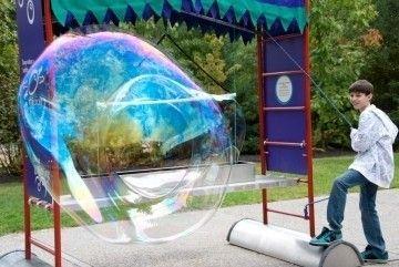 Photo of Bubbles On The Sundial Plaza –  Bubbles On The Sundial Plaza Worcester, Massachu…