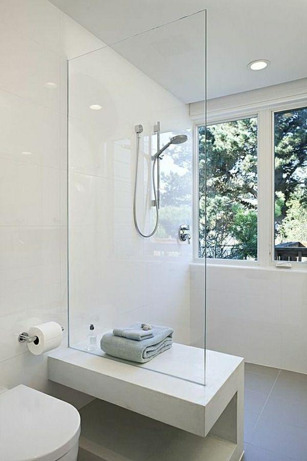 Duschwände Designs Die Dusche abgrenzen