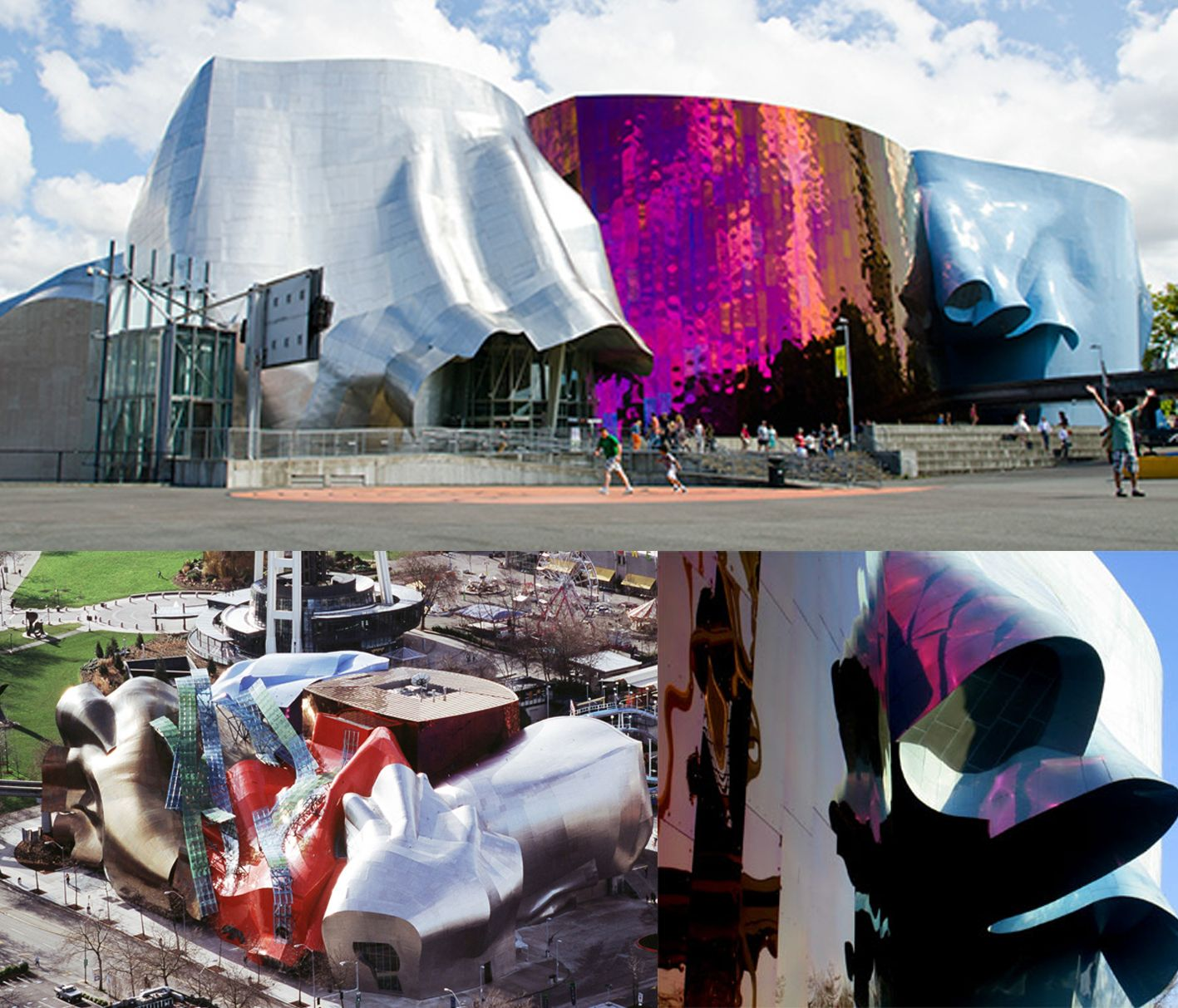 Experience Music Project,Seattle,Frank Gehry   Famous ...