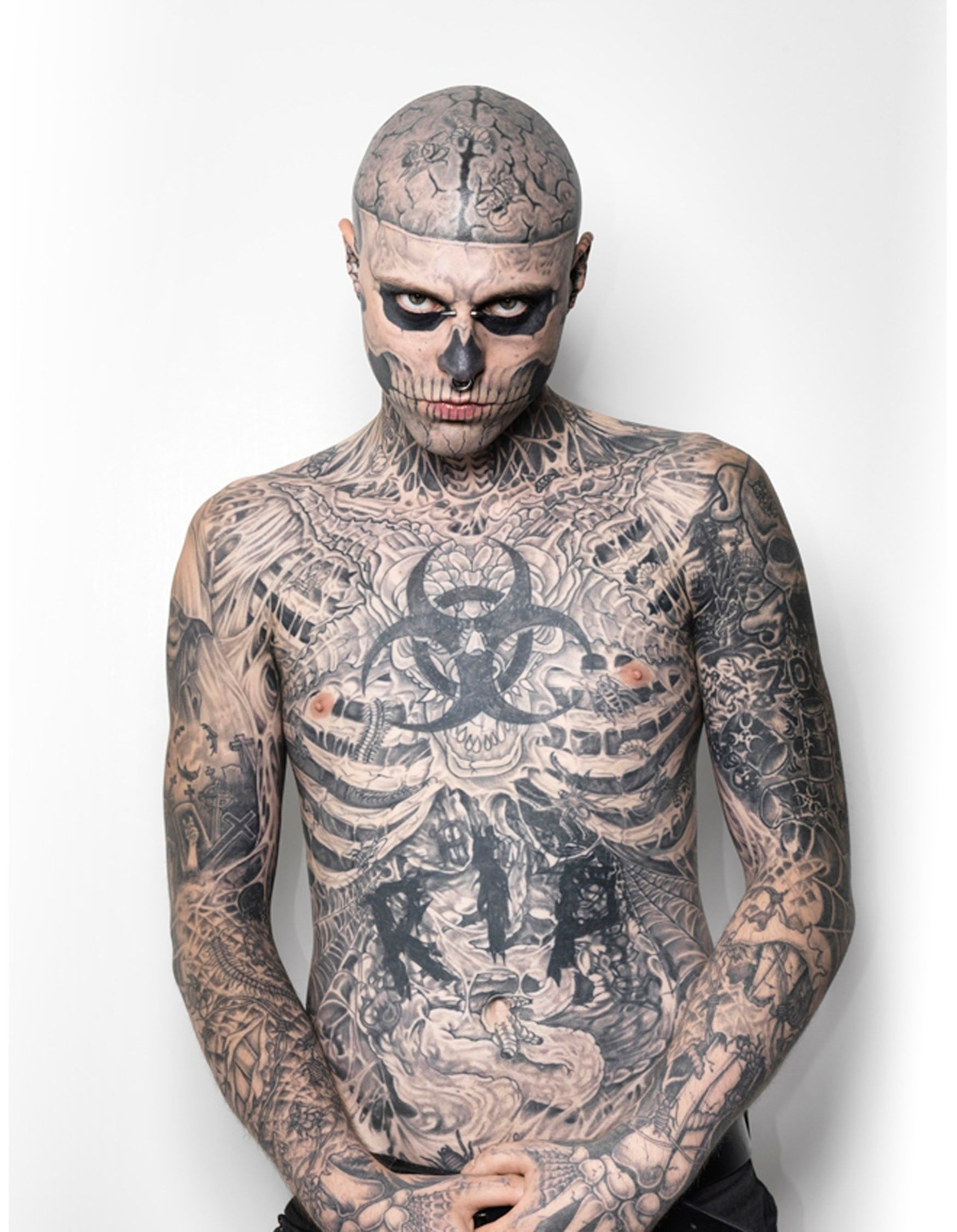 Meet Zombie Boy the closest thing to the walking dead