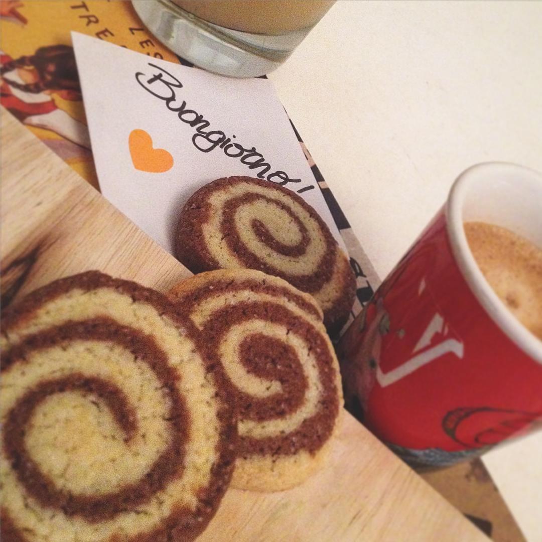 biscotti girella #coffee #cookies #biscuits #biscotti #caffè #colazione #buongiorno #breakfast #merenda #italianfood #food #dolci #cake #goodmorning