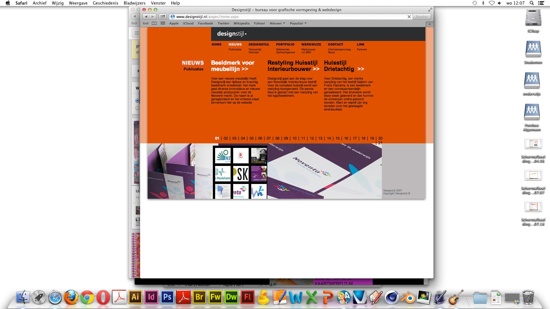 dit is een goede site omdat hij een mooi menu balk heeft en duidelijke kleuren heeft