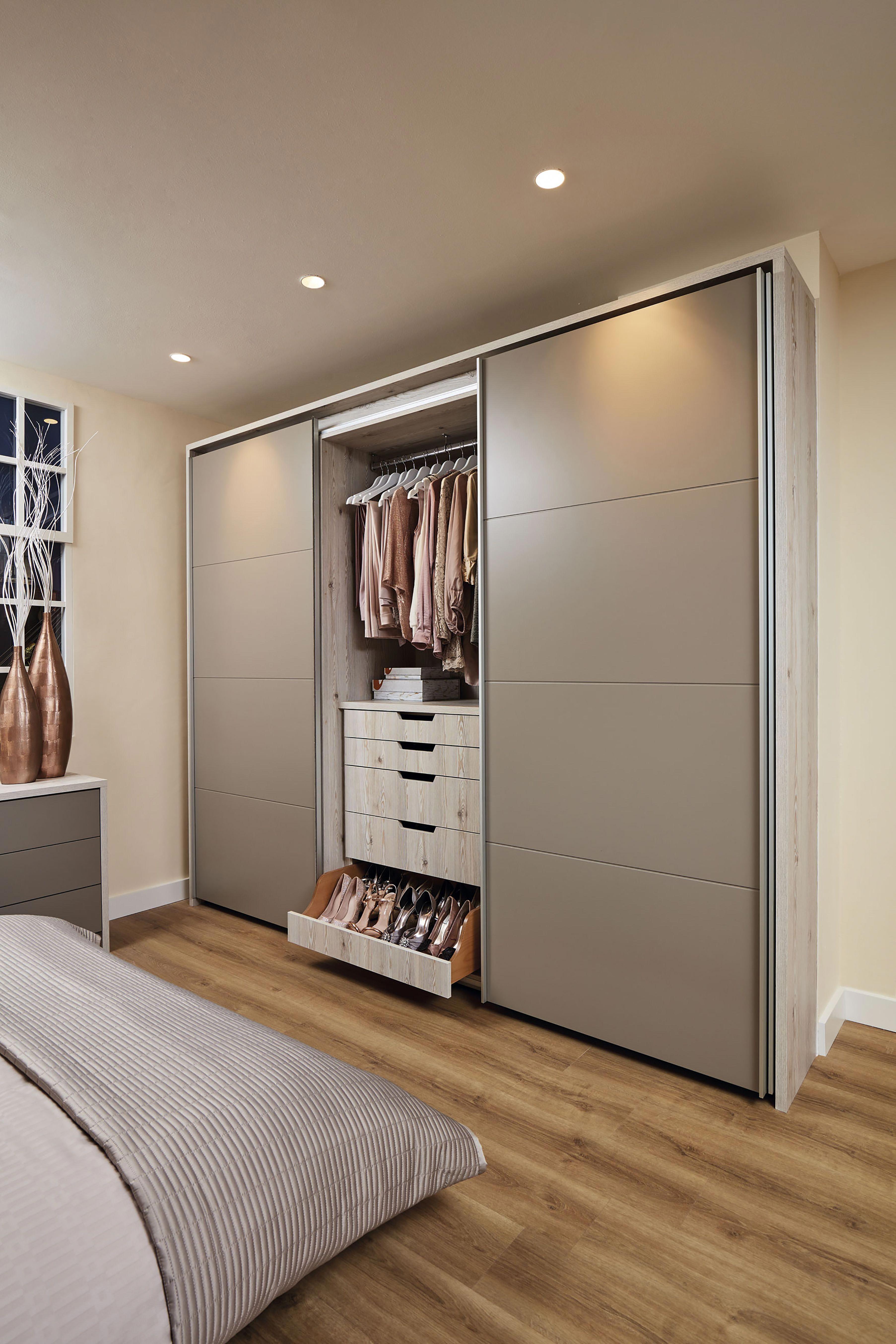 Bedroom Furniture With Integrated Shoe Storage And Bespoke Accessories Drawer Bedroommi Bedroom Cupboard Designs Wardrobe Design Bedroom Bedroom Closet Design