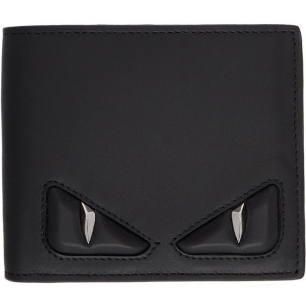 11cdc7e4f8f2 Fendi Black 3D Bag Bugs Wallet ( 515) ❤ liked on Polyvore featuring men s  fashion