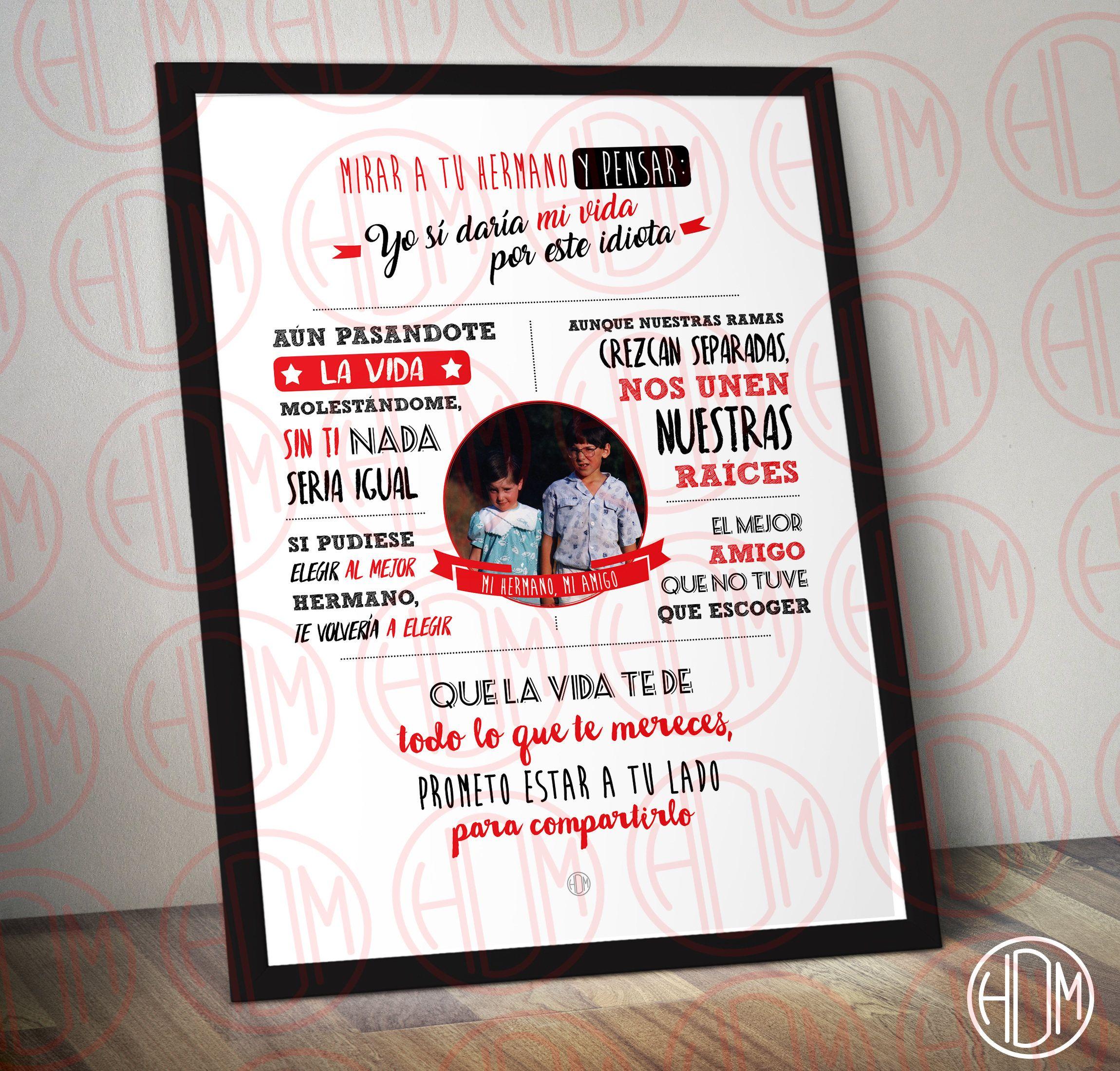 2 l minas personalizadas de boda para hermanos marco for Regalos para hermanas