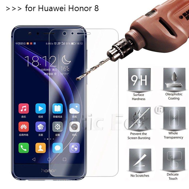 2 5d 0 26mm 9 H Protector De Pantalla Premium Vidrio Templado Para El Huawei Honor 8 Pelicula Protectora Para Hua Phone Screen Protector Phone Screen Protector