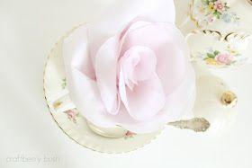 Craftberry Bush: No sew fabric rose...a tutorial request