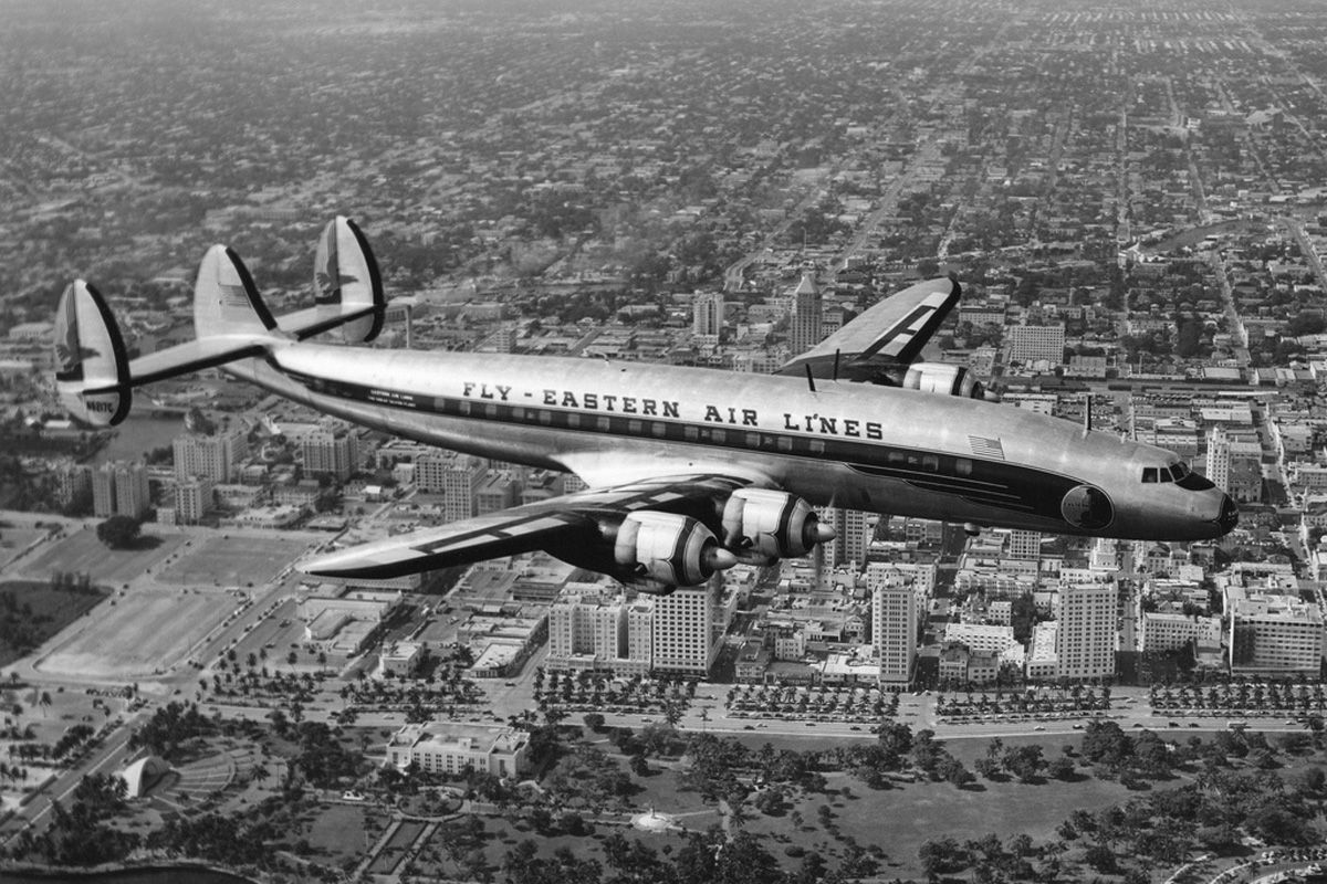 Eastern Airlines Lockheed Super Constellation By