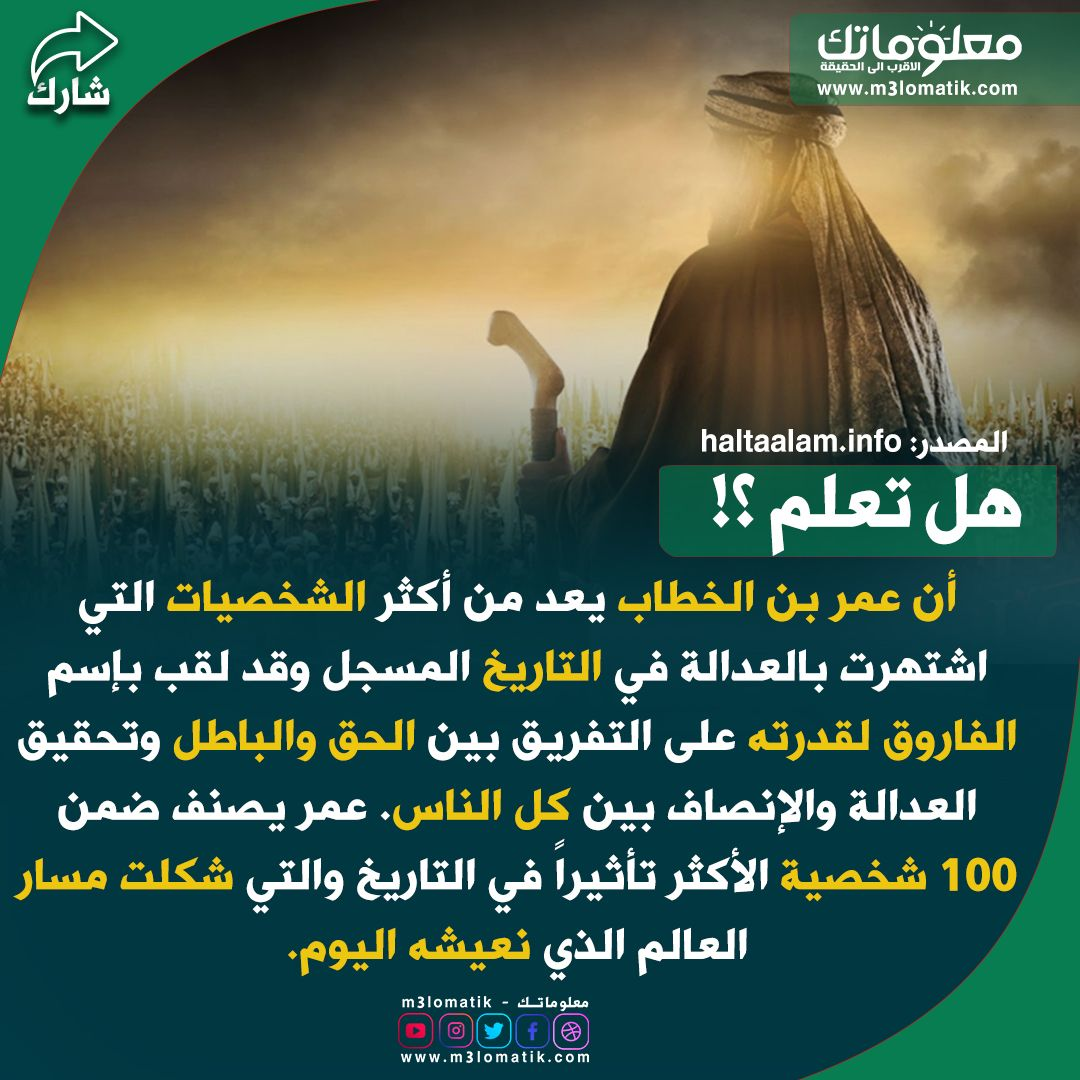 عمر بن الخطاب Lockscreen Movies Poster
