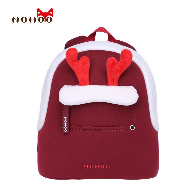 NOHOO Kids Children s School Bags Backpacks 3D Cartoon Parent-child Bags  Best Gift Toddler Baby dbe1111ba7955