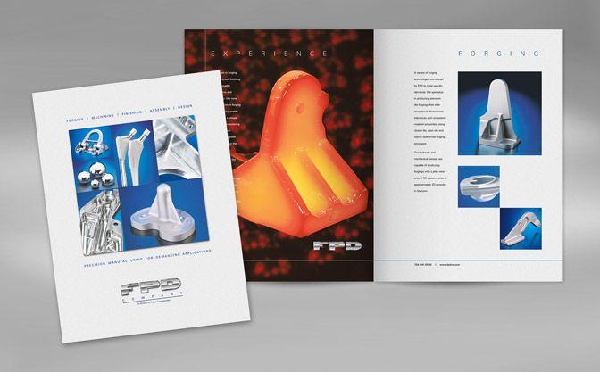 Brochure Design FPD Company Capabilities Brochure MichaelRobert - sales brochure