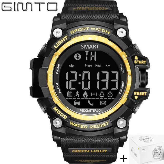 Gimto Brand LED Outdoor Electronic intelligent Wristwatch