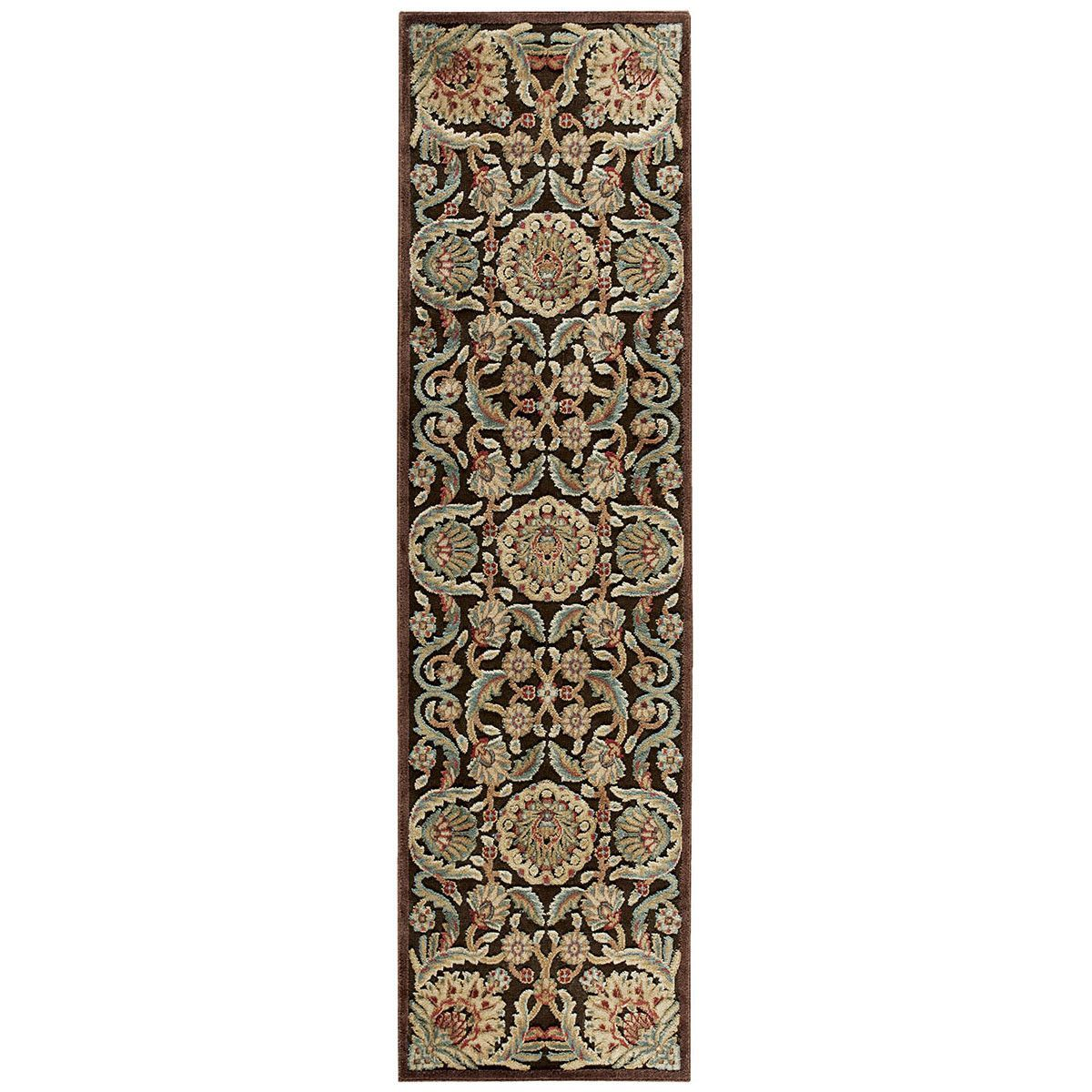 Nourison Graphic Illusions GIL17 Chocolate Area Rug 13265