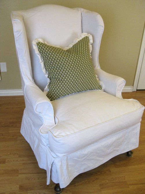 Wingback Chair Slipcovers Bed Bath And Beyond With Images