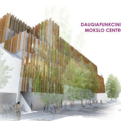 Vytautas Magnus University Verk Arkis Arkitektar Honnun Arkitektur Skipulag Modern Buildings Kaunas Natural Heritage