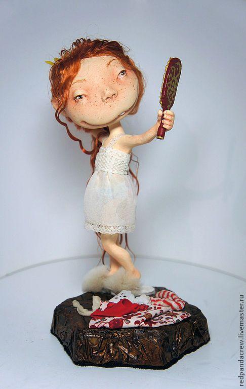 C добрым утром! - авторская кукла,коллекционная кукла,радость,Праздник