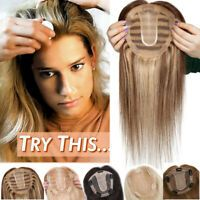 Details about US Popular Clip in REMY Human Hair T