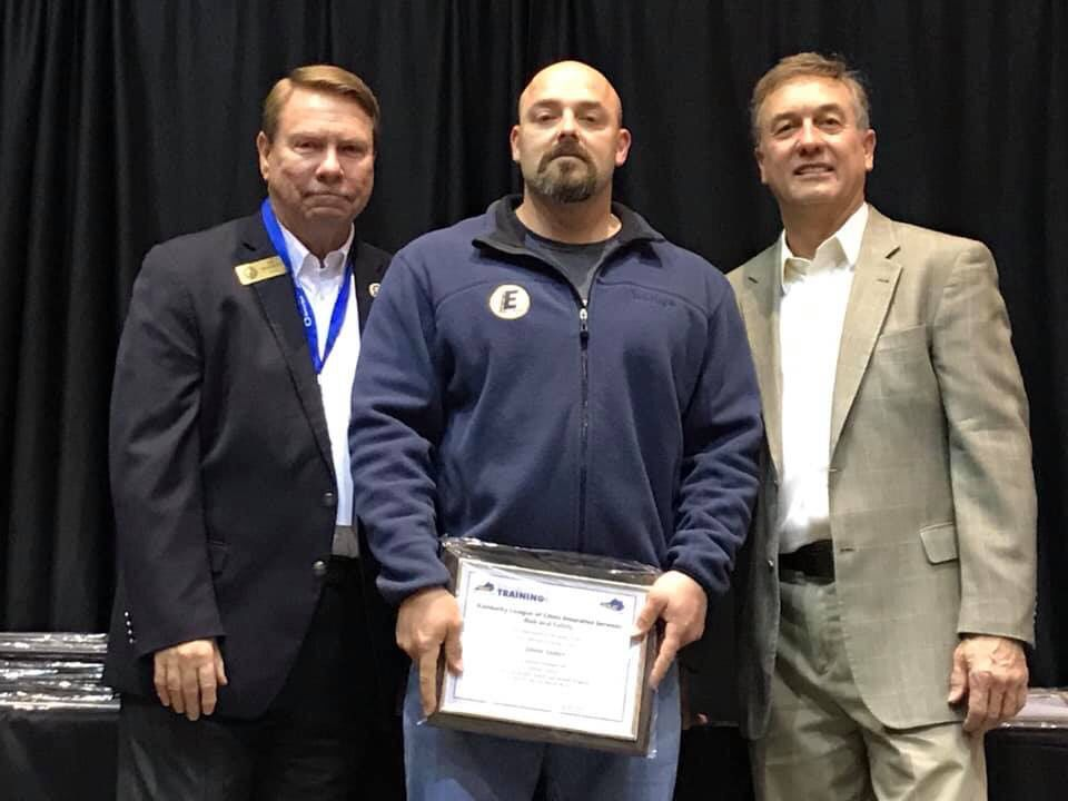 Congratulations To City Of Erlanger Public Works Crew Leader Jason